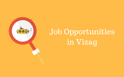 What are the Job Opportunities for different sectors in Vizag?