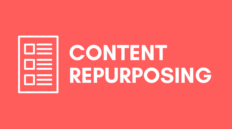 What are the different aspects involved in Re-Purposing a content?