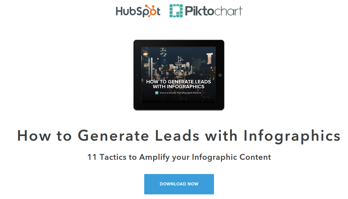 generating leads with infographic image