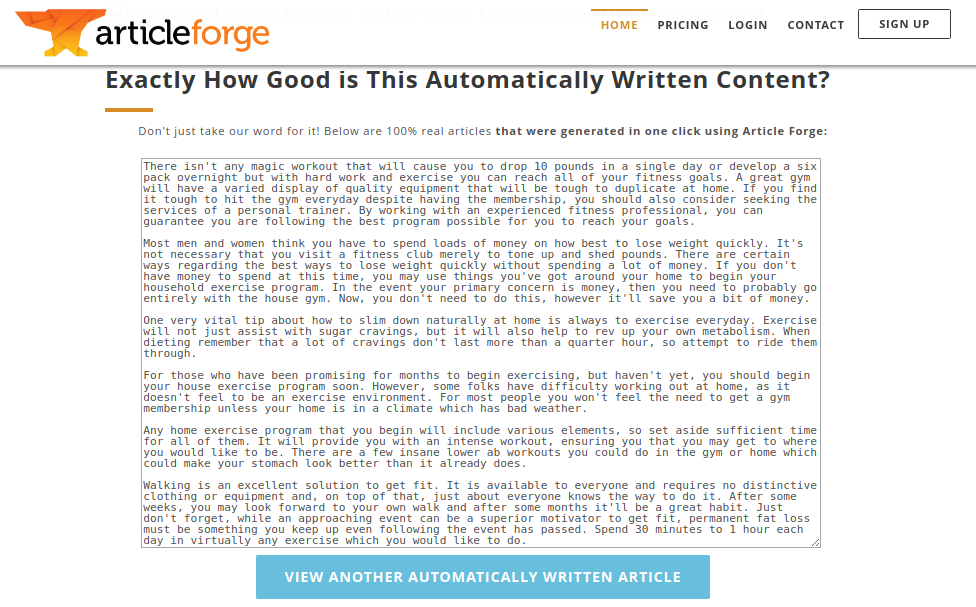 content in article forge image