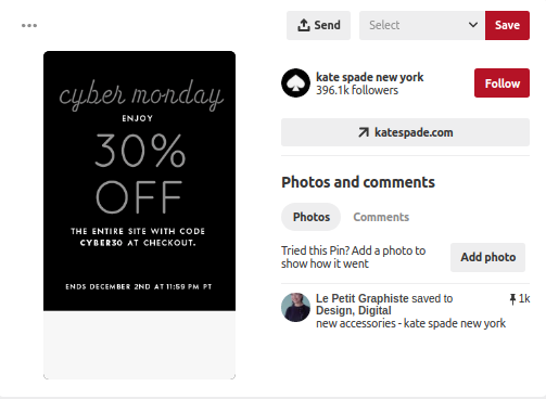 Pinterest for holiday marketing