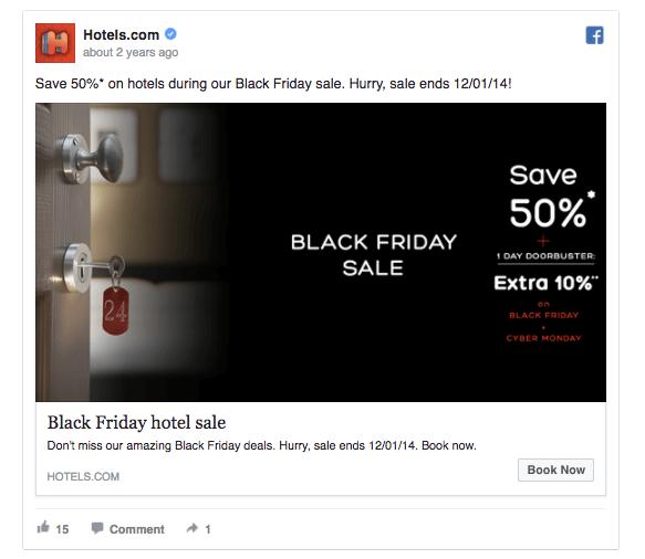 facebook black friday ad
