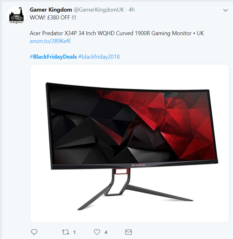 twitter black friday ad