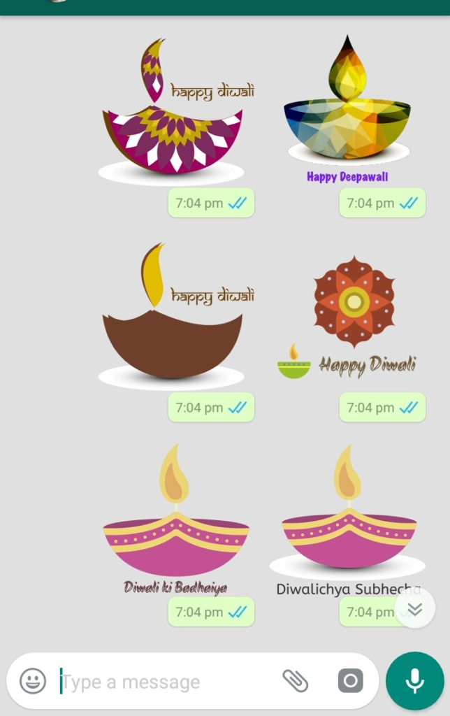 WhatsApp sticker for business