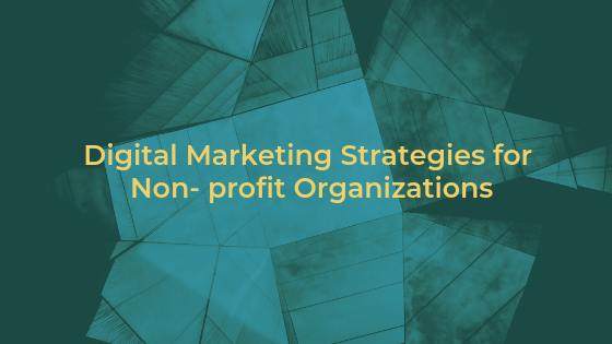 Digital marketing strategies for Non-Profit Organizations